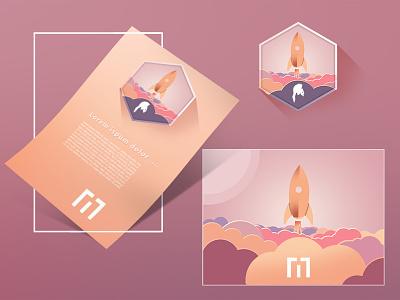 M + Spartacus design icon