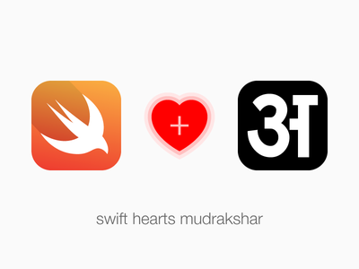 Swift Hearts Mudrakshar touch ipod ipad iphone hindi sanskrit marathi devanagari language technology swift ios