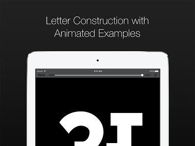 Letter Construction with Animated Examples calligraphy typography indic language hindi sanskrit marathi india language indic letter alphabet devanagari