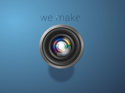 We make. - Film and Photography Studio Logo
