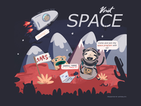 Join the space program with astrosloth!