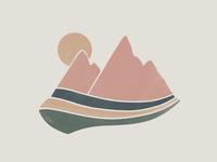Little mountain illustration