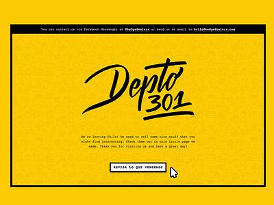 Depto 301 - Web simple retro solid clean icon ui web graphic web design