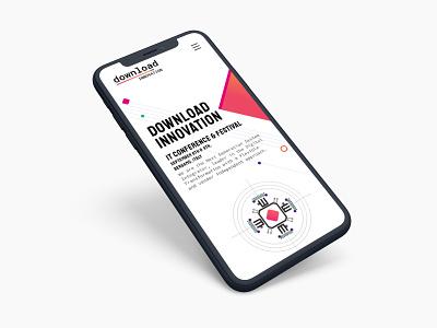 Download Innovation 2019 UI Design adobexd sketchapp graphic web development front-end development uxui web design generative art ui design