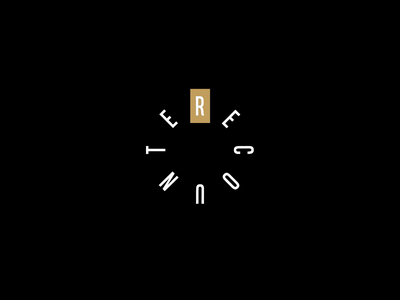 Recounter Logo Animation vector illustration animated gif animation logo ux drawing art animals illustration art design character