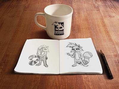 Rakun Medya - Character Design marvel logo ux art drawing cartoon illustration art design illustration character