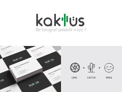 Kaktüs Fotoğrafçılık - Branding cartoon drawing ux logo icon typography vector branding design illustration character