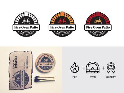 Fire Oven Ratio  Branding Logo typography character ui design drawing design branding illustration art vector illustration logo