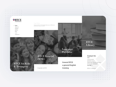 BTCE Website UI/UX Design animation app branding logo website concept clear clean ui design ui ux illustration design web website design