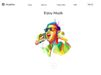 My First UI Desgin, Music Fan Web Site any Comments?!