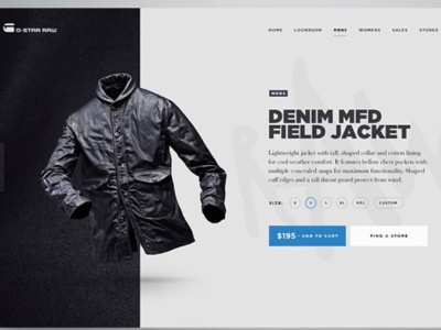 Jacket's online selling Store