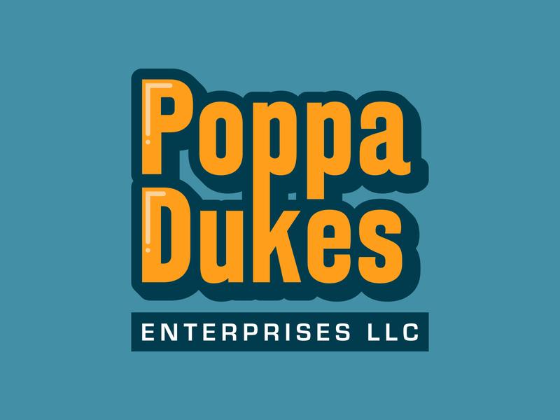 Poppa Dukes Logo