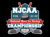NJCAA Hockey Championship 2016 Proposed Logo