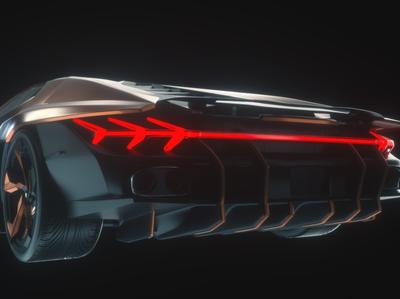 Lamborghini concept rendering