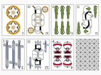 Spanish deck cards