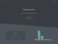 Crypto Portfolio Landing Page