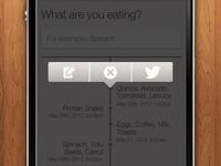 Meals app - gesture nav