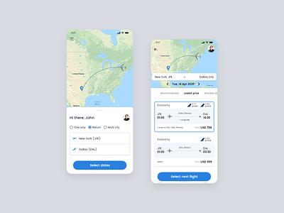 Airlines flight booking airline booking flight app-design ux ui