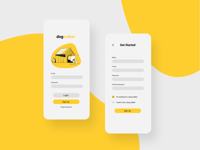 Daily UI #001 - Sign Up daily ui 001 dailyui interaction app ux ui
