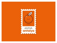 Antalya Stamp - Turkey