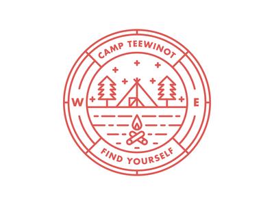 Camp Teewinot Badge
