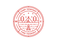 Camp Teewinot Badge