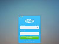 Skype login full alt