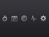 RideRecon Icons - Work in Progress