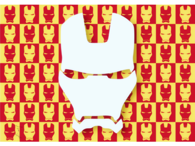 Iron man vectorised poster wallpaper