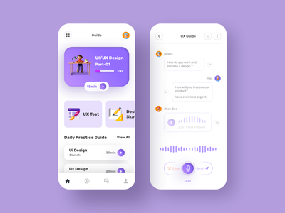 Online Course App learning mobile courses learning platform online design course learning app online course app user interface mobile ui ux ui minimal uidesign mobile app