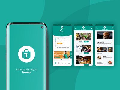 Tokoko App Redesign tokoko app design ux ui