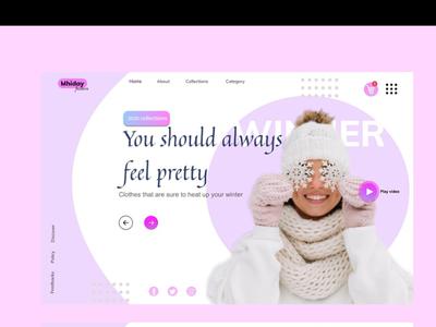 Web home screen