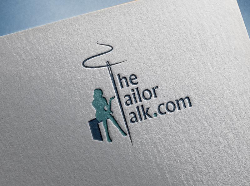The Tailor Talk Logo Design
