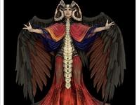 The Evil Priestess 3D Rendering