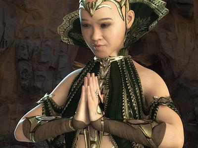 Rachel a Beautiful Filipino 3D Rendering 3d rendering cg realistic 3d 3d render renders 3d artist 3d art renderhub philipina philipino pinay warloc asian warrior asian girl asian gal oriental woman oriental women asian women asian woman