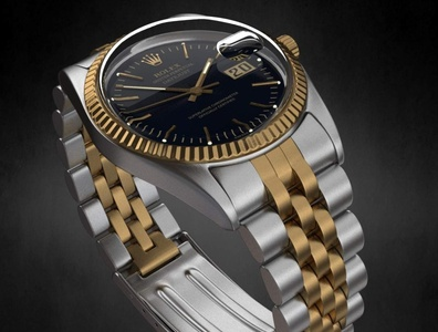 Rolex Datejust Watch 3D Model