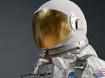 NASA Gemini G5C Space Suit 3D Model