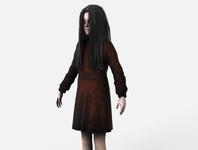Alma Wade from FEAR 2 3D Model