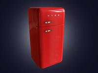 SMEG Refrigerator 3D Model