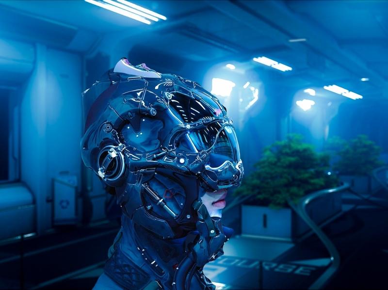 Journey Outwards 3D Rendering 3d rendering cg realistic 3d 3d render renders 3d artist 3d art renderhub carlcg sci fi scifi