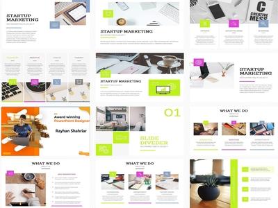 SEO Company Presentation Design