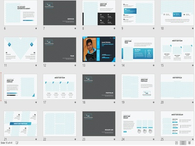 Auto Mobile  startup company pitch deck