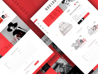 Modadoma digital branding and web design