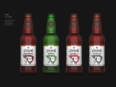 Corner Beer Branding