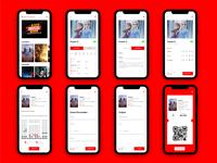 Movie Theater App   |   App de Cine