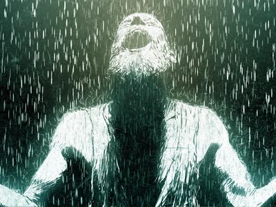 RevelationApp : Chapter 7 revelation revelationapp app illustration drawing face rain bible scripture ipad iphone ipod