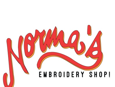 Norma's Embroidery Shop Logo