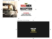 Mad Men Party Pass Print