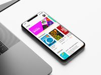 Book Store App Concept Design