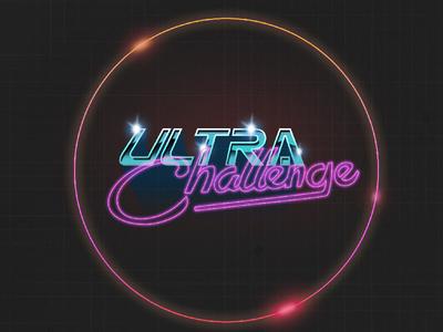 Ultra Challenge challenge ultra chrome neon flare 80s